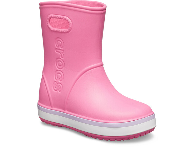 the best attitude 27ed8 526a1 Crocs Crocband Rain Boots Kids pink lemonade/lavender